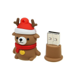 Флеш-накопитель USB  8GB  Smart Buy  NY series  Медведь Caribou