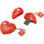 Флеш-накопитель USB  8GB  Smart Buy  Wild series  Сердце
