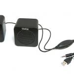 Колонки DIALOG Colibri AC-01UP, черные, 2.0, 1W, питание от USB (1/20)