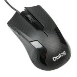 Мышь MOP-08U Dialog Pointer Optical - 3 кнопки + ролик прокрутки, USB