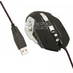 Мышь игровая проводная JY15 (черная/коробка)