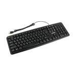 Клавиатура проводная Smartbuy ONE 112UM-K USB черная