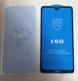 Защитное стекло 10D Huawei Honor 8X Max с полной проклейкой в тех. уп., черное