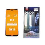 Защитное стекло 21D 11H для Xiaomi Redmi Note 7 полный клей в упаковке, черное