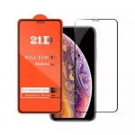 Защитное стекло 21D без упаковки Samsung Galaxy A01 core черное