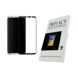 Защитное стекло 2.0D Privacy для Meizu M6 Note проклеивается на весь экран, черное