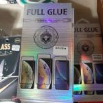 Защитное стекло 3D Full Glue для Samsung Galaxy A51 проклеивается на весь экран, черное