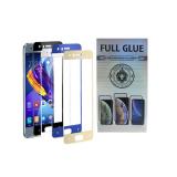 Защитное стекло 3D Silver Box Huawei Honor View 20 проклеивается на весь экран, черное