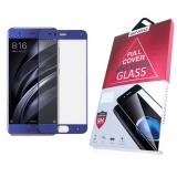 Защитное стекло 3D BINGO для Huawei Honor 8 проклеивается на весь экран, синее