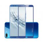Защитное стекло 5D. проклеивается на весь экран для Honor 9 Lite в тех. уп. BLUE