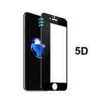 Защитное стекло 5D для Huawei Y3 2018 с полной проклейкой в тех. уп., черное