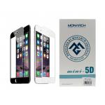 Защитное стекло Monarch 5D mini Iphone 11 (округлённое стекло с японским клеем) черное
