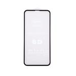 Защитное стекло 6D для Samsung Galaxy S21 Ultra закругленные края, тех пак, черный
