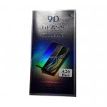 Защитное стекло 9D Ceramic Matte Samsung Galaxy A20 гибкое в упаковке, черное