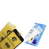 Защитное стекло 9D Tempered Glass Samsung Galaxy S20 FE полная проклейка, в конверте, черное