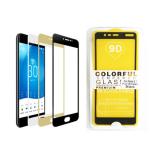 Защитное стекло 9D Colorful Samsung Galaxy A20s пластиковая упаковка, черное