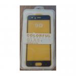 Защитное стекло 9D Colorful Huawei Y8 P пластиковая упаковка, черное