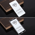 Защитное стекло Full Glue для Huawei Honor 7С Pro/Y7 Prime (2018) на полный экран, арт.010630 (Белый