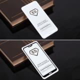 Защитное стекло Full Glue для Huawei P20 Lite/ Huawei Nova 3e на полный экран, арт.010630 (Белый)