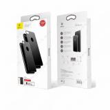 Стекло защитное Baseus для APPLE iPhone 7/8, Arc-Surface, 0.3 мм, 4D, на заднюю крышку, серебряный