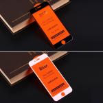 Защитное стекло Full Glue для iPhone 6/6S на полный экран, арт.010630 (Черный)