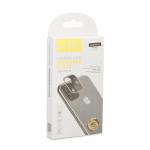 Стекло защитное HOCO для APPLE iPhone 11 Pro, 3D, металл, глянцевый, на заднюю камеру, серебряный