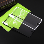 Стекло защитное HOCO для APPLE iPhone 7/8 Plus, A12, Nano 3D Full sreen , 0.3 мм, 3D, глянцевое, бел