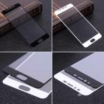 Защитное стекло для Meizu M5S на полный экран, арт.009288 (Белый)