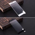 Защитное стекло для Nokia 3 на полный экран, арт.009288 (Белый)
