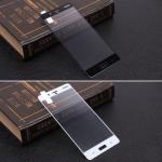 Защитное стекло для Nokia 8 на полный экран, арт.009288 (Белый)