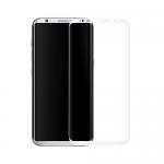 Противоударное стекло для дисплея Samsung Galaxy S8 3D (белый).13719