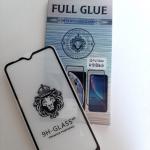 Защитное стекло FULL GLUE Samsung Galaxy A10 2019 проклеивается на весь экран