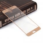 Защитное стекло 3D для Samsung Galaxy J5 (2016) на полный экран, арт.009288 (Золотой)