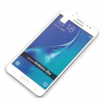 Защитное стекло 3D для Samsung Galaxy J5 (2016) на полный экран, арт.009288 (Белый)