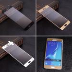 Защитное стекло для Samsung j5 (2016) на полный экран, арт.009288 (Белый)