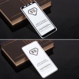 Защитное стекло Full Glue для Samsung Galaxy A6+ (2018) на полный экран, арт.010630 (Черный)