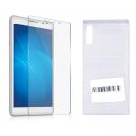 Стекло на дисплей в тех. паке  Samsung Galaxy A71 (прозрачное)