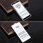 Защитное стекло Full Glue для Xiaomi Mi A2 (Mi 6X) на полный экран, арт.010630 (Черный)
