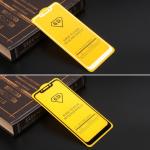 Защитное стекло Full Glue для Xiaomi Redmi Note 6 Pro на полный экран, арт.010630 (Белый)
