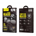 Стекло защитное HOCO для APPLE iPhone 7/8, G1, Flash attach, 0.33 мм, 2.5D, глянцевое, черное