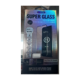 Защитное стекло Super Glass для Iphone X (10) с полной проклейкой, черное