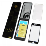 Стекло защитное WK для APPLE iPhone 6/6S (4.7), Star trek series, 0.22 мм, 3D, глянцевое, белый