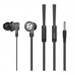 Наушники внутриканальные Celebrat D9, микрофон, кнопка ответа, кабель 1.2м, цвет: чёрный