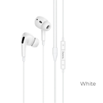 Наушники внутриканальные HOCO M1, Pro Original, микрофон, кабель Type-C, цвет: белый