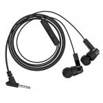 Наушники внутриканальные HOCO M52, Amazing rhyme, микрофон, кабель 1.2м, цвет: чёрный