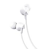 Наушники внутриканальные HOCO M60, Perfect, микрофон, кнопка ответа, кабель 1.2м, цвет: белый