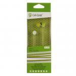 Наушники внутриканальные Celebrat S20, микрофон, кнопка ответа, кабель 1.2м, цвет: зелёный