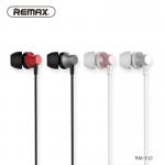 Гарнитура 3,5 Remax RM-512 с микрофоном (красный)