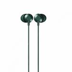 Наушники внутриканальные Remax RM-512a, Wired music, кабель 1.2м, цвет: зелёный