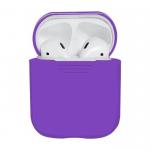 Силиконовый чехол для AirPods (фиолетовый)